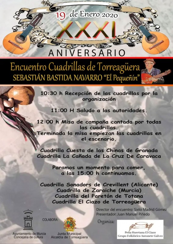 <span style='color:#780948'>ARCHIVED</span> - Sunday 19th January XXXI Encuentro de Cuadrillas in Torreaguera
