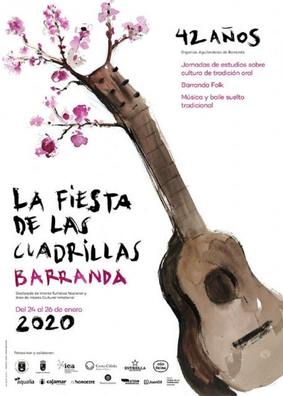 <span style='color:#780948'>ARCHIVED</span> - Sunday 26th January Festival de Cuadrillas in Barranda, Caravaca de la Cruz