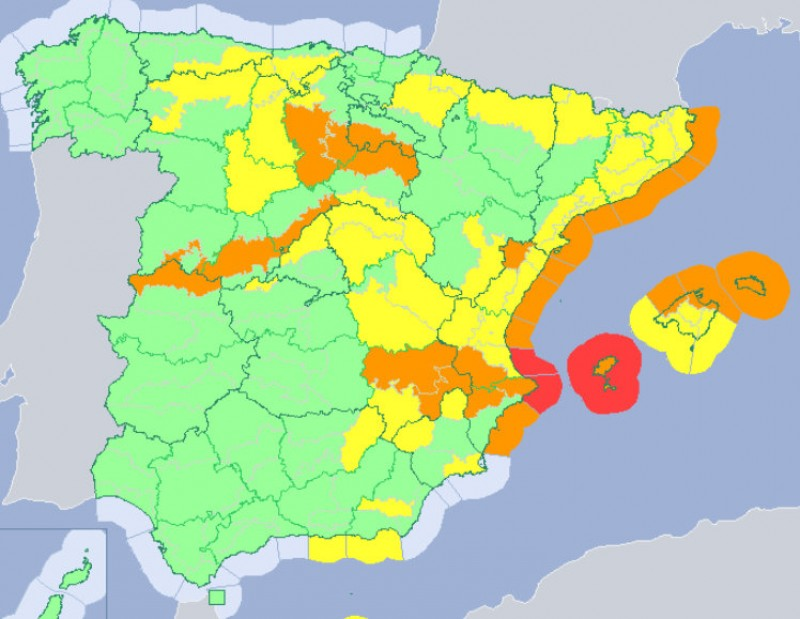 <span style='color:#780948'>ARCHIVED</span> - Snow and wind alerts issued for Sunday evening in the Region of Murcia