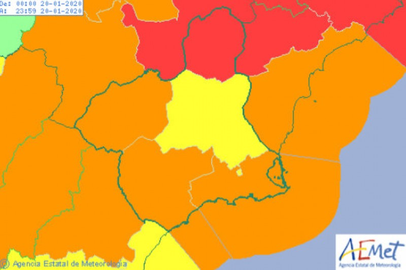 <span style='color:#780948'>ARCHIVED</span> - Red alert for heavy snow in northern Murcia