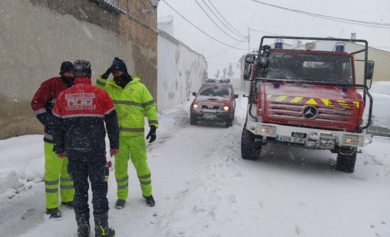 <span style='color:#780948'>ARCHIVED</span> - Murcia road closures update as snow and rain continue to fall