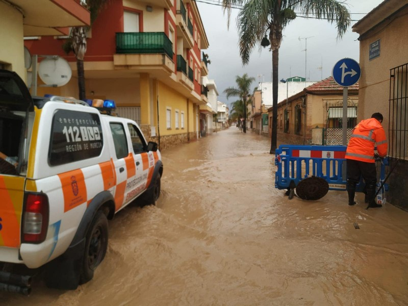 The rain stops but flooding in Los Alcázares and San Javier may get worse before it gets better