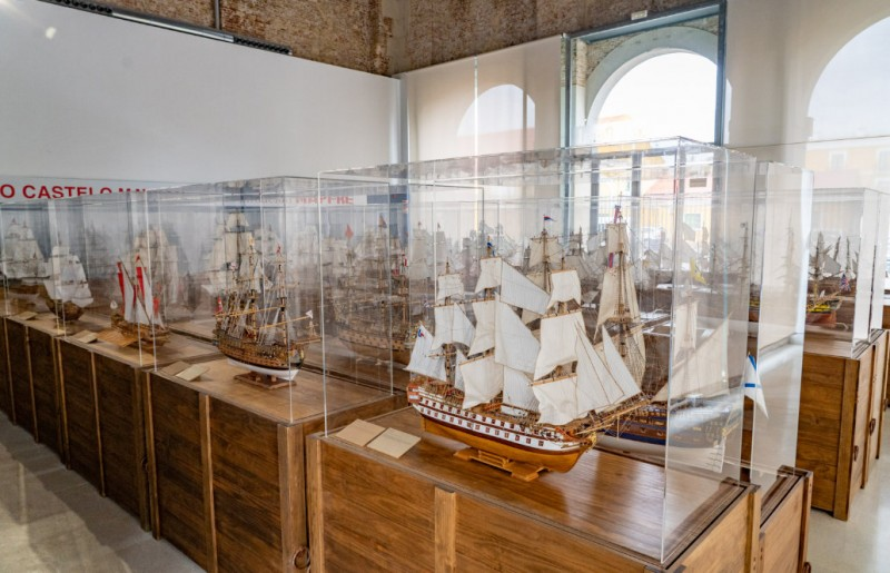 Collection of model 18th century ships goes on display at the Museo Naval in Cartagena