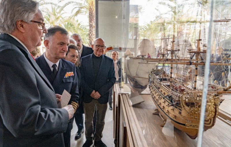 <span style='color:#780948'>ARCHIVED</span> - Collection of model 18th century ships goes on display at the Museo Naval in Cartagena