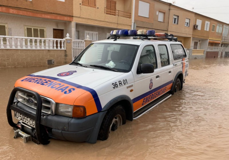 <span style='color:#780948'>ARCHIVED</span> - The clean-up begins again after more flooding in Los Alcázares and other Mar Menor towns