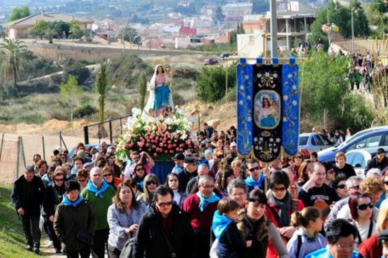 <span style='color:#780948'>ARCHIVED</span> - 1st and 2nd February 2020 The Romería and day of the Candelaria in Alhama de Murcia