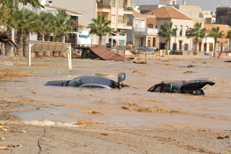 The climate emergency is making intense torrential storms more frequent in Murcia