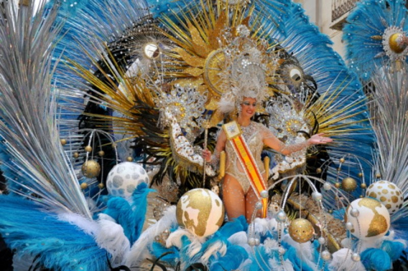 14th to 25th February Carnival in Cartagena