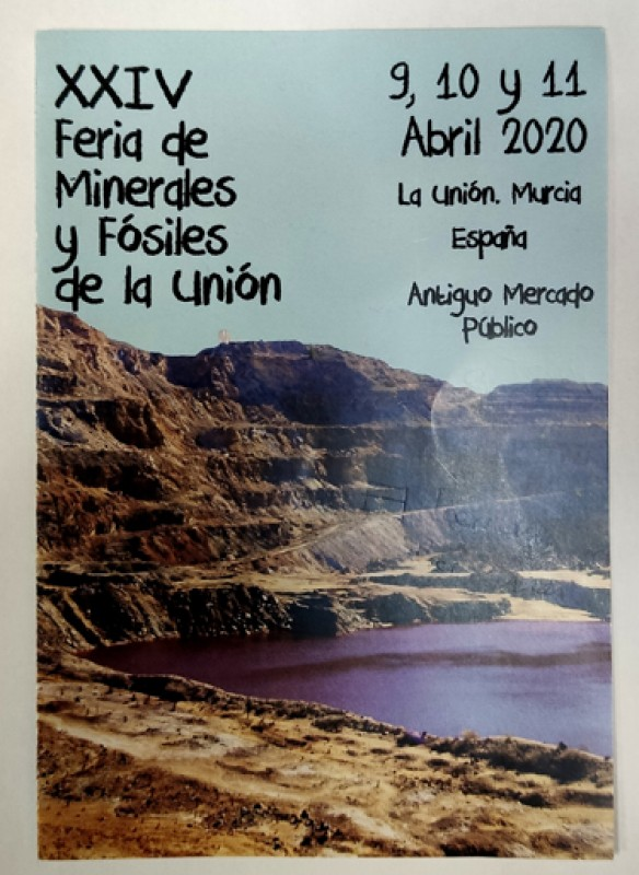 <span style='color:#780948'>ARCHIVED</span> - 9th to 11th April La Unión Minerals and Fossils Fair
