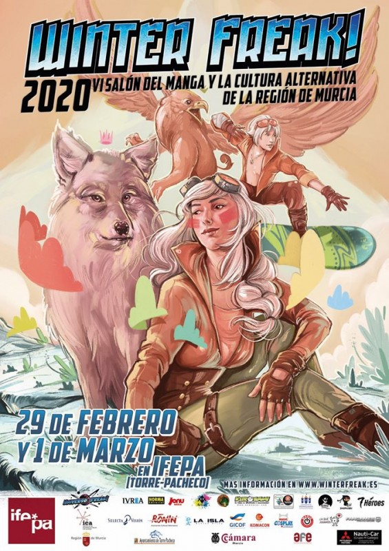 29th February to 1st March Winter Freak Japanese pop culture fair at the IFEPA in Torre Pacheco