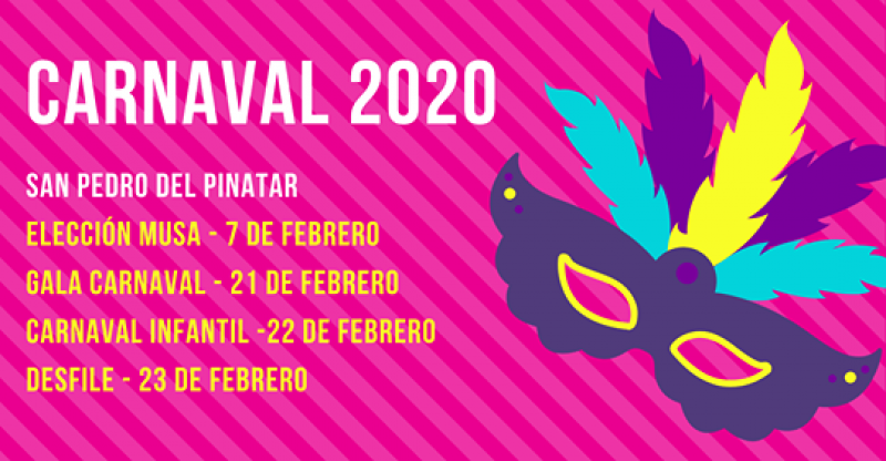 21st to 23rd February Carnival in san Pedro del Pinatar
