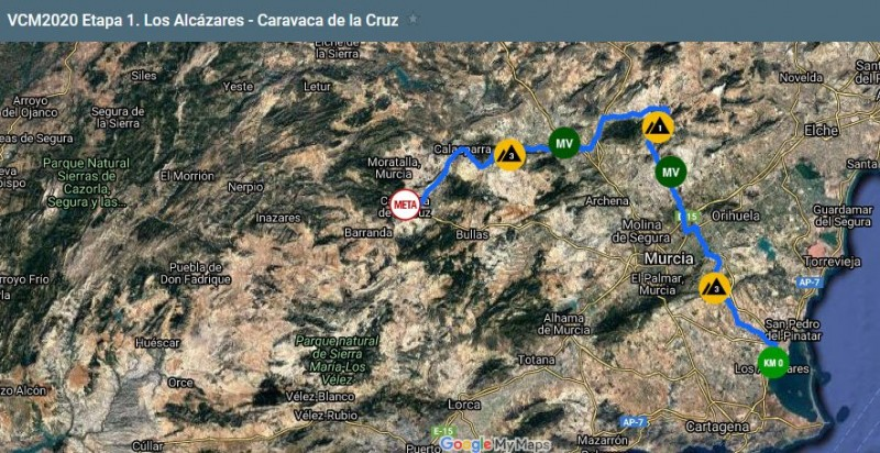 <span style='color:#780948'>ARCHIVED</span> - 14th and 15th February : two stages in the Vuelta Ciclista Región de Murcia