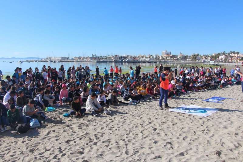 <span style='color:#780948'>ARCHIVED</span> - Environmental education for children on the beach in San Pedro del Pinatar