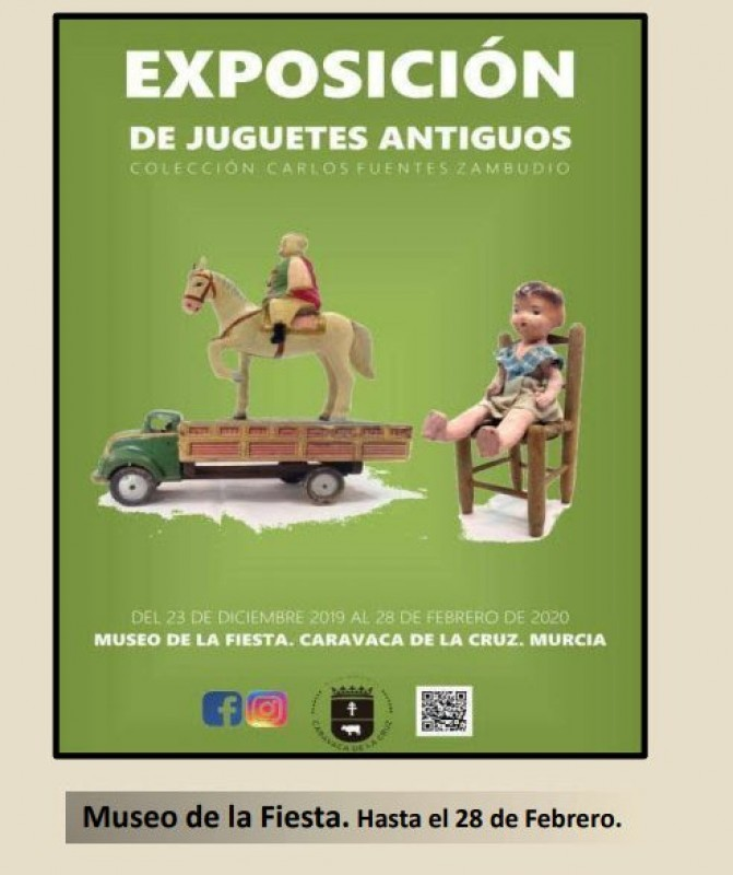 Exhibition of antique toys in Caravaca de la Cruz