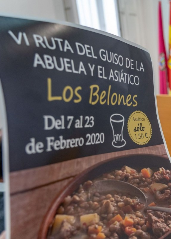 <span style='color:#780948'>ARCHIVED</span> - 7th to 23rd February Los Belones; Annual stews route Ruta del Guiso de La Abuela