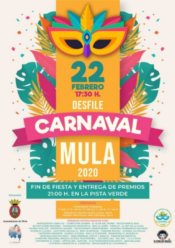 22nd February Carnival in Mula