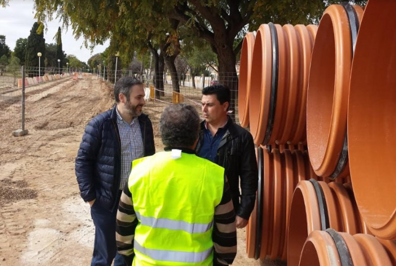 <span style='color:#780948'>ARCHIVED</span> - New drains to improve floodwater collection in San Javier