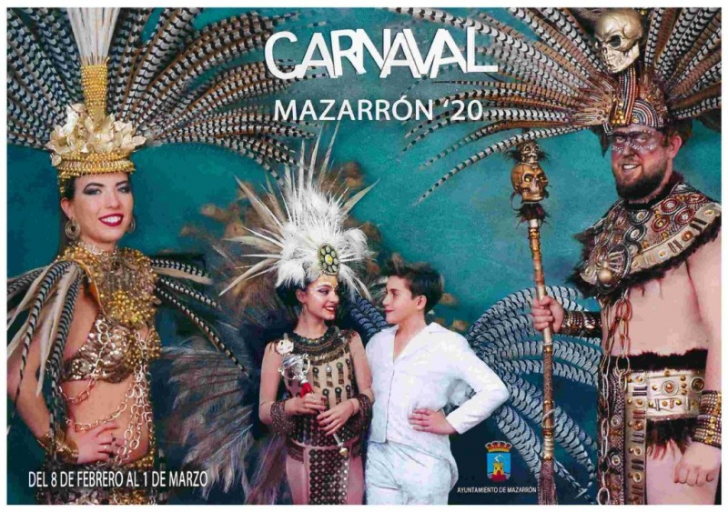<span style='color:#780948'>ARCHIVED</span> - 15th February to 1st March Carnival in Mazarrón