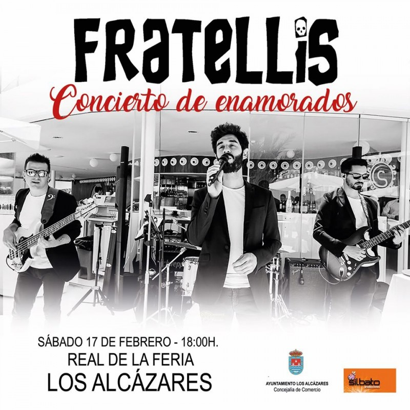 <span style='color:#780948'>ARCHIVED</span> - Saturday 15th February Free live music with Fratellis in Los Alcázares