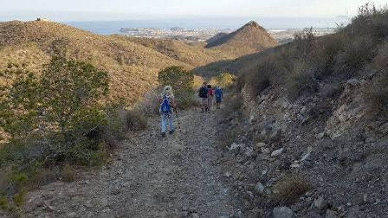 Saturday 22nd February Free guided senderismo route Mazarrón, Senderismo Los Lorentes