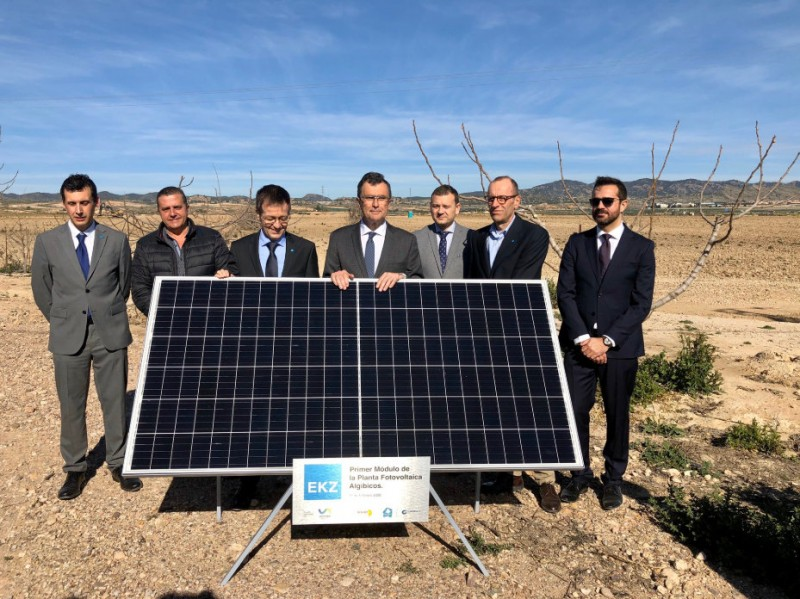 New Murcia solar power plant will provide energy for 25,000 homes