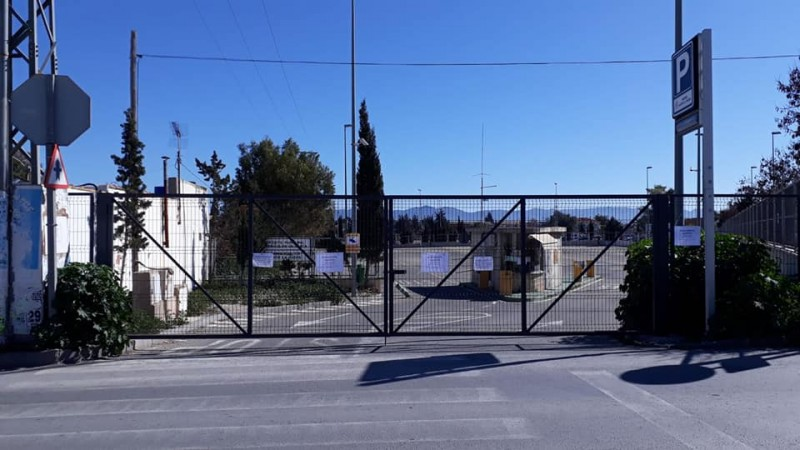 New free parking for Lorca weekly market