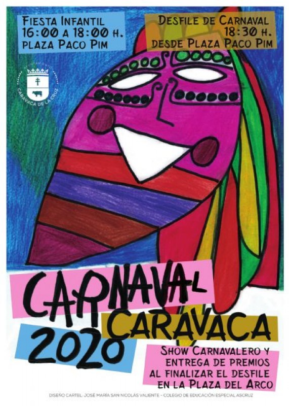 Saturday 22nd February Carnival in Caravaca de la Cruz