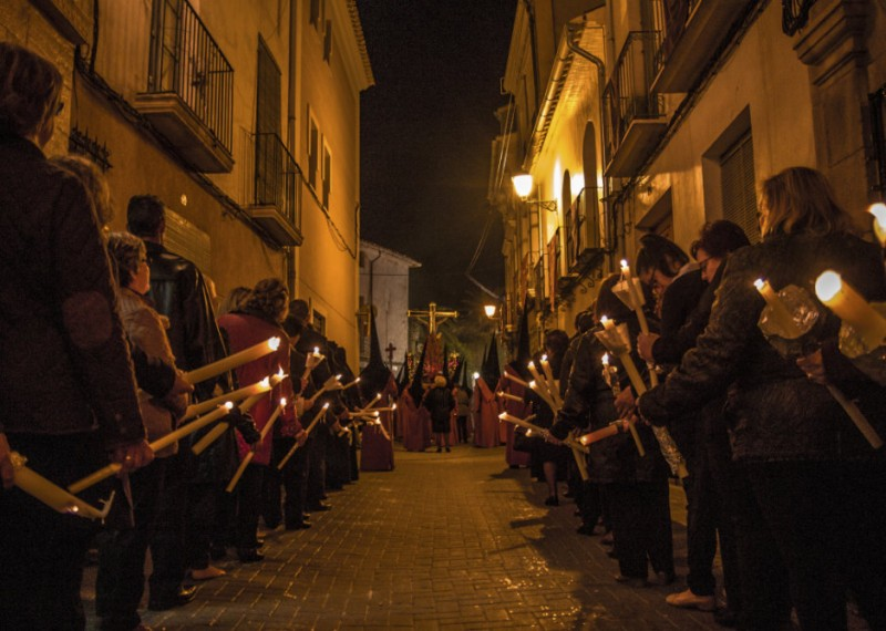 The celebrations of Semana Santa in Jumilla, an event of International Tourist Interest