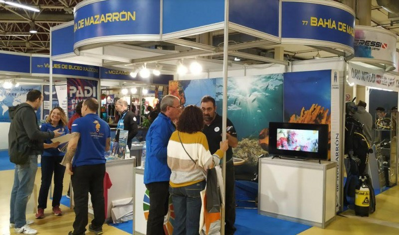 <span style='color:#780948'>ARCHIVED</span> - Mazarrón promotes dive tourism at major event in Catalunya