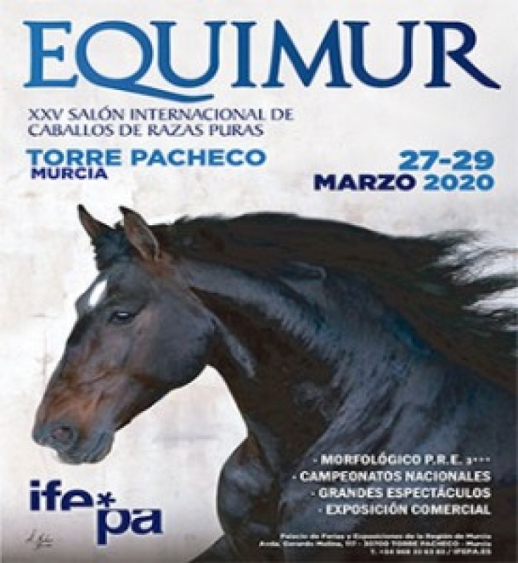 <span style='color:#780948'>ARCHIVED</span> - 27th to 29th March EQUIMUR Horse show at IFEPA Torre Pacheco POSTPONED