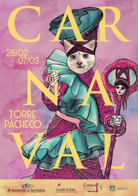 7th March main Carnival parade 2020 in Torre Pacheco