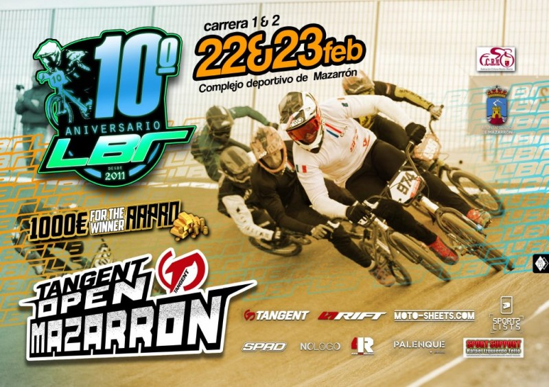 <span style='color:#780948'>ARCHIVED</span> - 22nd and 23rd February, top BMX bike action in Mazarron