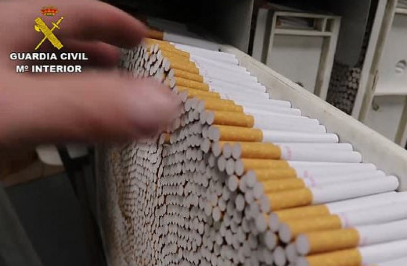 <span style='color:#780948'>ARCHIVED</span> - British ringleader arrested at the first underground cigarette factory discovered in Europe