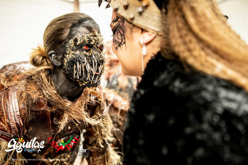 <span style='color:#780948'>ARCHIVED</span> - Amazing make-up for the Suelta de la Mussona in Águilas
