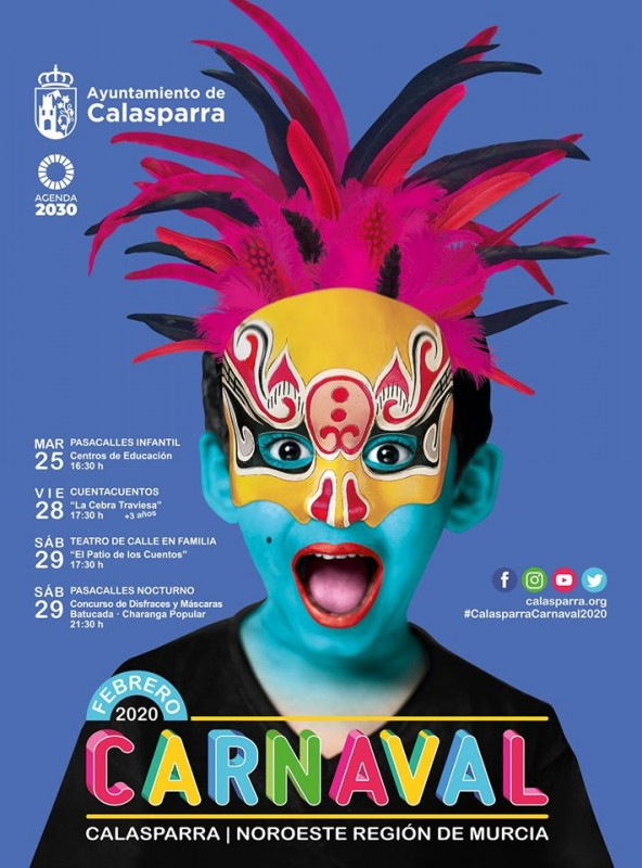 25th to 29th February Carnival in Calasparra