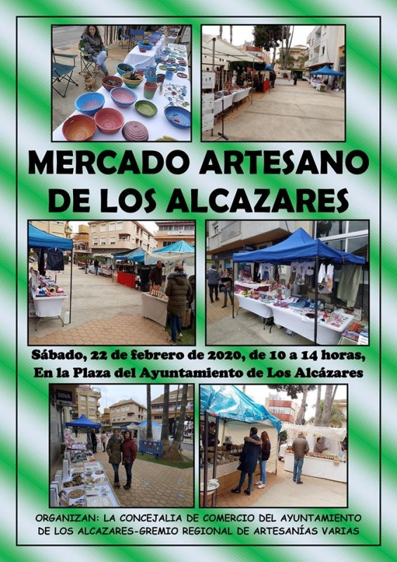 22nd February Artisan Maket in Los Alcázares