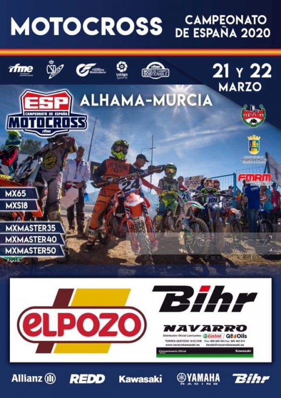 21st and 22nd March Motocross in Alhama de Murcia