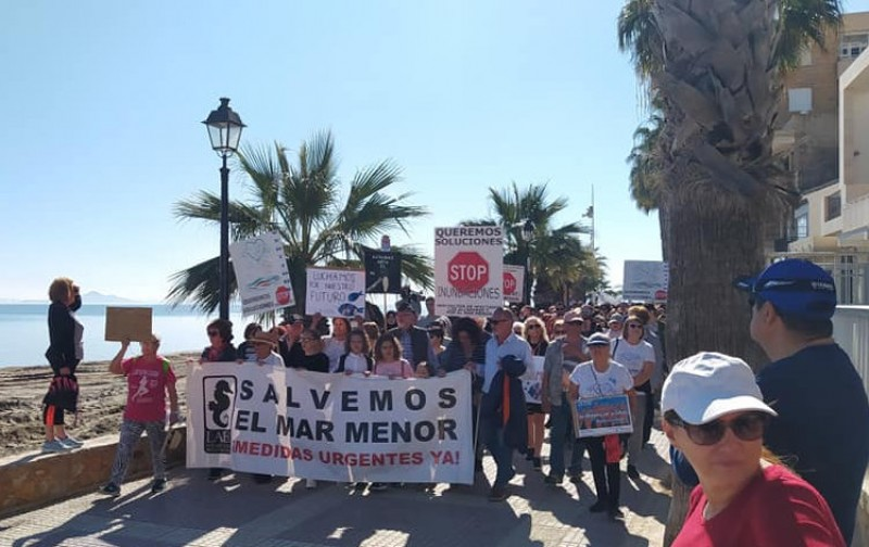 <span style='color:#780948'>ARCHIVED</span> - Los Alcázares residents demand flood protection measures and improvements in the Mar Menor