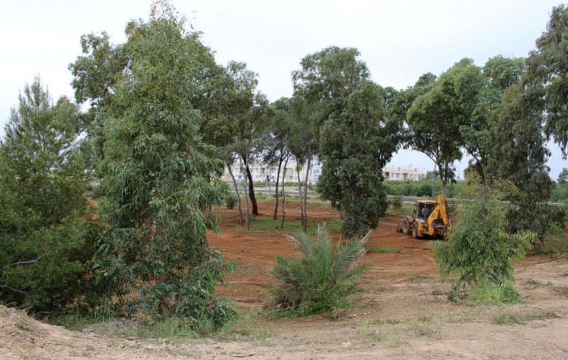 <span style='color:#780948'>ARCHIVED</span> - Vegetation cleared in Los Urrutias to minimize the risk of mosquito plagues this spring