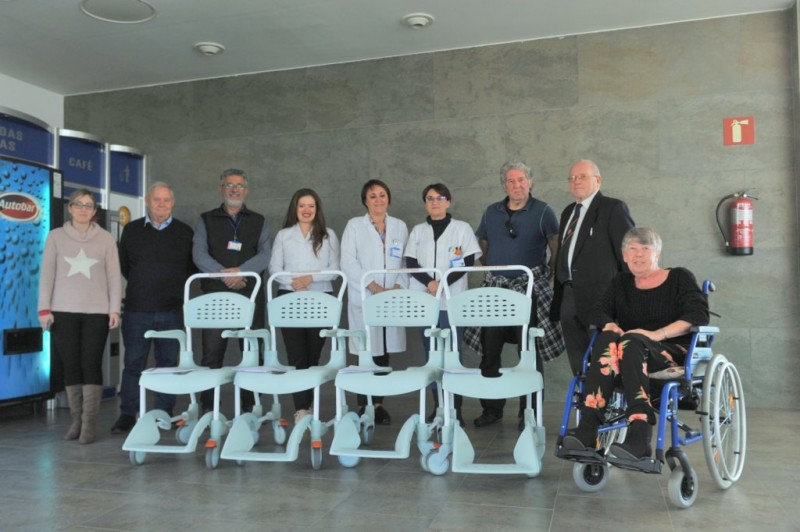 <span style='color:#780948'>ARCHIVED</span> - Murcia Masons make life changing donation to Los Arcos Hospital