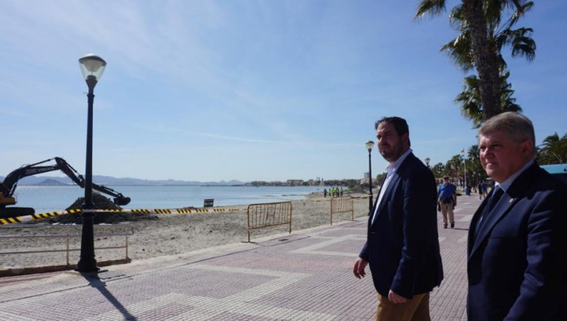 <span style='color:#780948'>ARCHIVED</span> - Central government delegate defends the response to flooding in Los Alcázares and problems of the Mar Menor