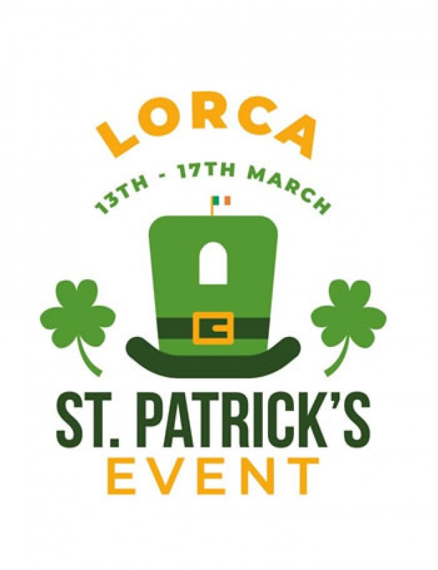 <span style='color:#780948'>ARCHIVED</span> - 13th to 17th March Lorca celebrates Saint Patrick's Day with special activities and tours