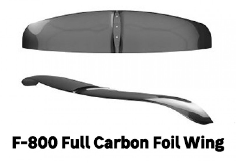 F-800 AFS Full Carbon Foil Wing SKU: 13492 for Light Winds & Heavy Riders