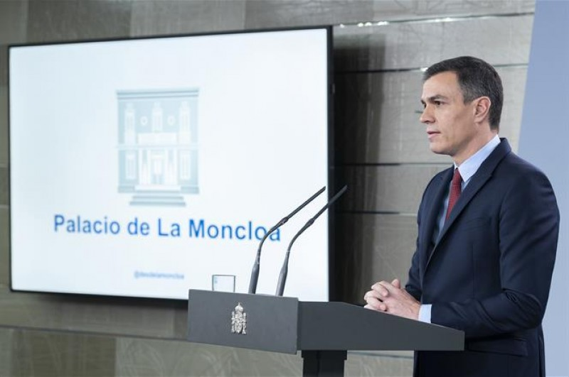 Spanish government orders total lockdown of Spain as State of Emergency is ratified