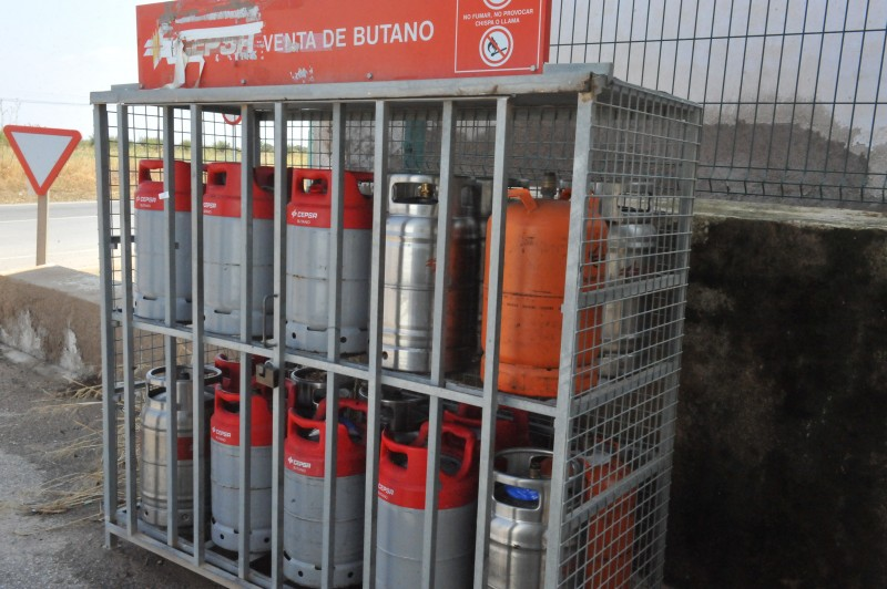 Butane gas canister availability in Águilas during the coronavirus emergency