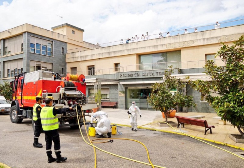 Coronavirus victims found dead in their beds at residences for the elderly in Spain