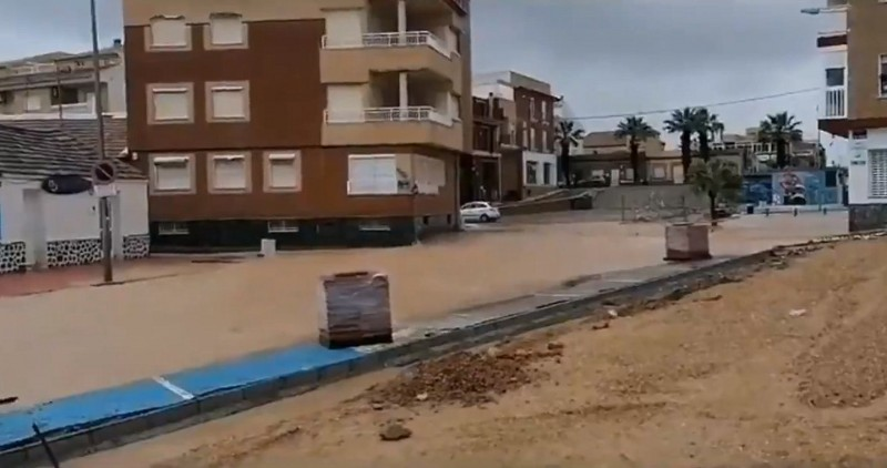 <span style='color:#780948'>ARCHIVED</span> - Flooding returns to the Mar Menor for the fourth time since September