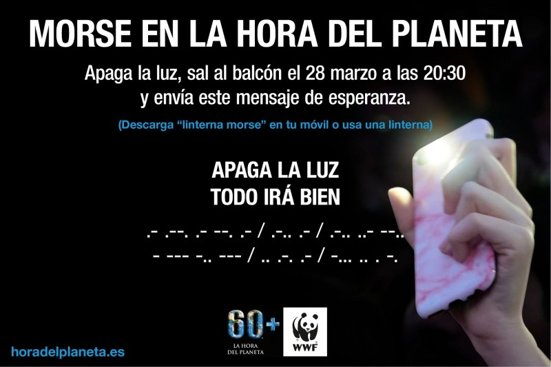 28th March Jumilla observes the hour of the planet