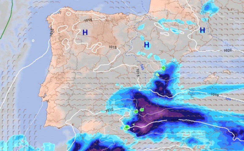 Aemet admits shortcomings in forecasting the storm which hit Murcia on Tuesday