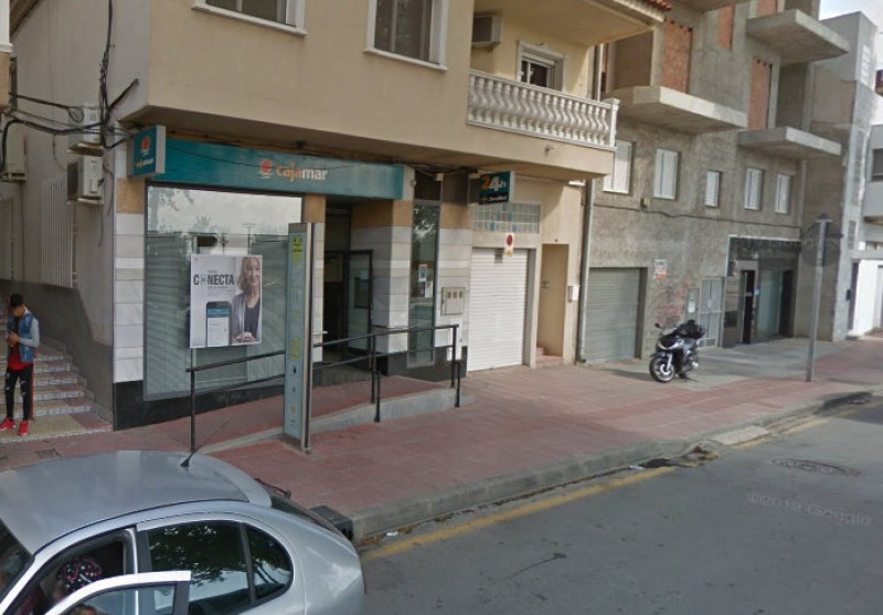 Bank robber arrested in Monteagudo after locking himself inside with the staff
